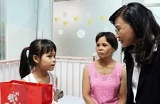 Mang Tết ấm đến với bệnh nhân nghèo ở Thành phố Hồ Chí Minh