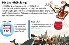 [Infographics] Độc đáo lễ hội Cầu Ngư của ngư dân Nam Trung Bộ