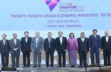 Bộ trưởng Kinh tế ASEAN thảo luận giải pháp tăng hội nhập khu vực