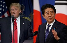 Lãnh đạo Nhật Bản và Mỹ điện đàm về vấn đề Triều Tiên