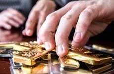 Giá vàng chạm mức cao nhất 5 tuần tại thị trường châu Á