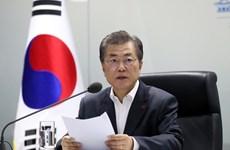 Hàn Quốc: Tỷ lệ ủng hộ Tổng thống Moon Jae-in tiếp tục tăng