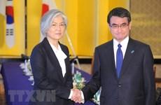 Ngoại trưởng Nhật Bản, Hàn Quốc hội đàm về vấn đề bắt cóc công dân