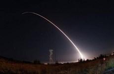 Mỹ sẽ tiến hành vụ thử tên lửa phòng không trước cuối năm nay