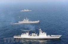 Tàu khu trục Hàn Quốc đã tới Vịnh Guinea giải cứu ngư dân