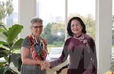 Phó Chủ tịch nước gặp song phương với lãnh đạo bang Victoria
