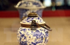 Triển lãm Đồ sứ ký kiểu thời Lê-Trịnh, chúa Nguyễn và thời Nguyễn