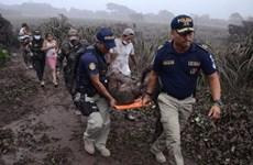 Vụ núi lửa phun trào ở Guatemala: Ít nhất 99 người thiệt mạng