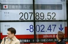 Thị trường chứng khoán châu Á đi xuống trong phiên cuối tuần