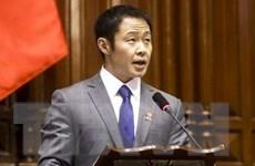 Peru: Nghị sỹ Kenji Fujimori vượt qua cuộc bỏ phiếu bãi nhiệm