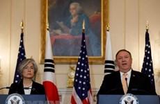 Ngoại trưởng Nhật, Mỹ, Hàn nhóm họp bàn về tình hình Triều Tiên