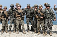 Hàn Quốc hoãn diễn tập quân sự để duy trì đà đối thoại với Triều Tiên