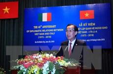 TP.HCM kỷ niệm 45 năm thiết lập quan hệ ngoại giao Việt Nam-Italy