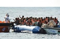 Libya giải cứu gần 500 người di cư ở ngoài khơi phía Tây