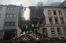 Nổ lớn tại một khu chung cư Đức khiến 1 người thiệt mạng