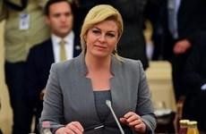 Tổng thống Croatia Kolinda Grabar-Kitarovic sẽ đến Sochi cổ vũ đội nhà