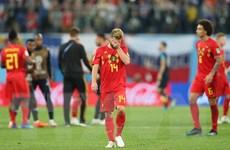 """Thế hệ vàng của """"Quỷ Đỏ"""" thêm một lần lỗi hẹn tại World Cup"""