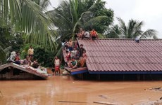 Hàn Quốc viện trợ Lào 1 triệu USD khắc phục hậu quả vụ vỡ đập