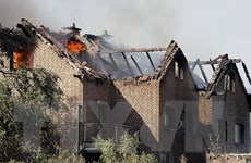 Đức: 40 người bị thương do hỏa hoạn gần tuyến đường sắt cao tốc