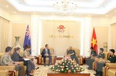 Tham vấn Hợp tác quốc phòng Việt Nam-Australia lần thứ 12
