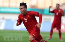 ASIAD 2018: Quang Hải, Duy Mạnh góp mặt đội hình tiêu biểu vòng bảng