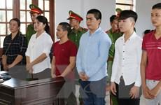 Án nghiêm khắc với 6 bị cáo gây rối trật tự công cộng ở Ninh Thuận