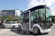 Chạy thử thành công xe buýt tự lái tại Xứ sở Kim chi