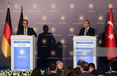 Đức và Thổ Nhĩ Kỳ nỗ lực cải thiện quan hệ song phương