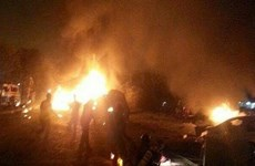 Iraq: 3 quả đạn cối bắn trúng vùng xanh ở thủ đô Baghdad