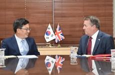 Hàn Quốc, Anh nhất trí hợp tác cho thỏa thuận thương mại hậu Brexit