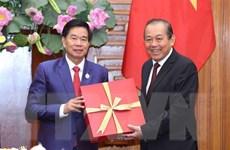Thúc đẩy quan hệ hợp tác giữa thủ đô Vientiane và thủ đô Hà Nội