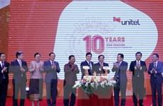 Liên doanh Viettel ở Lào - biểu tượng mẫu mực về hợp tác kinh tế