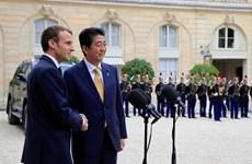 Nhật Bản, Pháp thúc đẩy sự ổn định tại Ấn Độ Dương-Thái Bình Dương