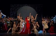 """Trình diễn nhạc kịch nổi tiếng """"Con dơi"""" ở Thành phố Hồ Chí Minh"""