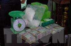 Phá đường dây vận chuyển 12kg ma túy đá từ Campuchia về Việt Nam
