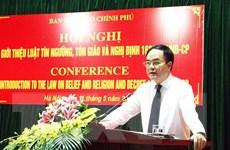 Việt Nam và Nga trao đổi kinh nghiệm quản lý nhà nước về tôn giáo