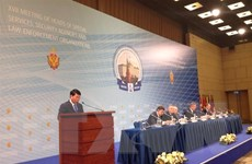 Việt Nam dự hội nghị lãnh đạo các cơ quan bảo vệ pháp luật ở Nga