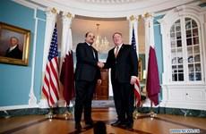 Ngoại trưởng Mỹ thảo luận với quan chức Qatar về liên minh khu vực