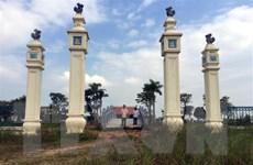 Nghệ An: Di tích quốc gia sau 5 năm khởi công xây dựng vẫn dang dở