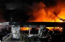 Bình Dương: Kịp thời khống chế đám cháy lớn và vụ rò rỉ khí Amoniac