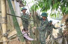 Điện Biên: Ấm tình quân dân trên bản vùng cao Huổi Chan 2