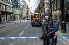 Bắt đầu phiên tòa xét xử 6 nghi can tài trợ khủng bố ở Thụy Điển
