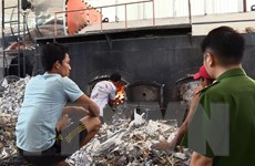 Bình Dương: Phát hiện doanh nghiệp vi phạm về xử lý chất thải