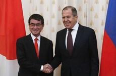 Ngoại trưởng Nhật-Nga tìm cách thúc đẩy đối thoại hòa bình