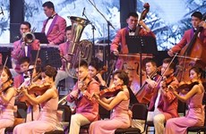 Triều Tiên cử đoàn nghệ thuật tới Trung Quốc biểu diễn