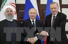 'Bộ ba' Astana lên án âm mưu gây tổn hại chủ quyền của Syria