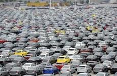 Doanh số bán ôtô tại thị trường Trung Quốc giảm mạnh trong tháng 1