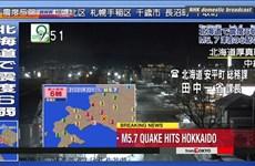 Nhật Bản: Hàng trăm người bị mắc kẹt sau động đất ở Hokkaido