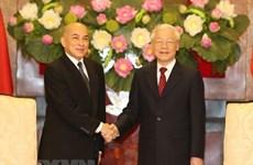 Nâng quan hệ hữu nghị Việt Nam-Campuchia lên tầm cao mới