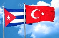 Cuba và Thổ Nhĩ Kỳ thúc đẩy hợp tác kinh tế song phương